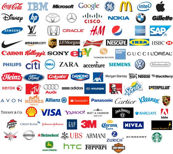 الفوائد التي يمكن تعلمها من شعارات أفضل 100 علامة تجارية