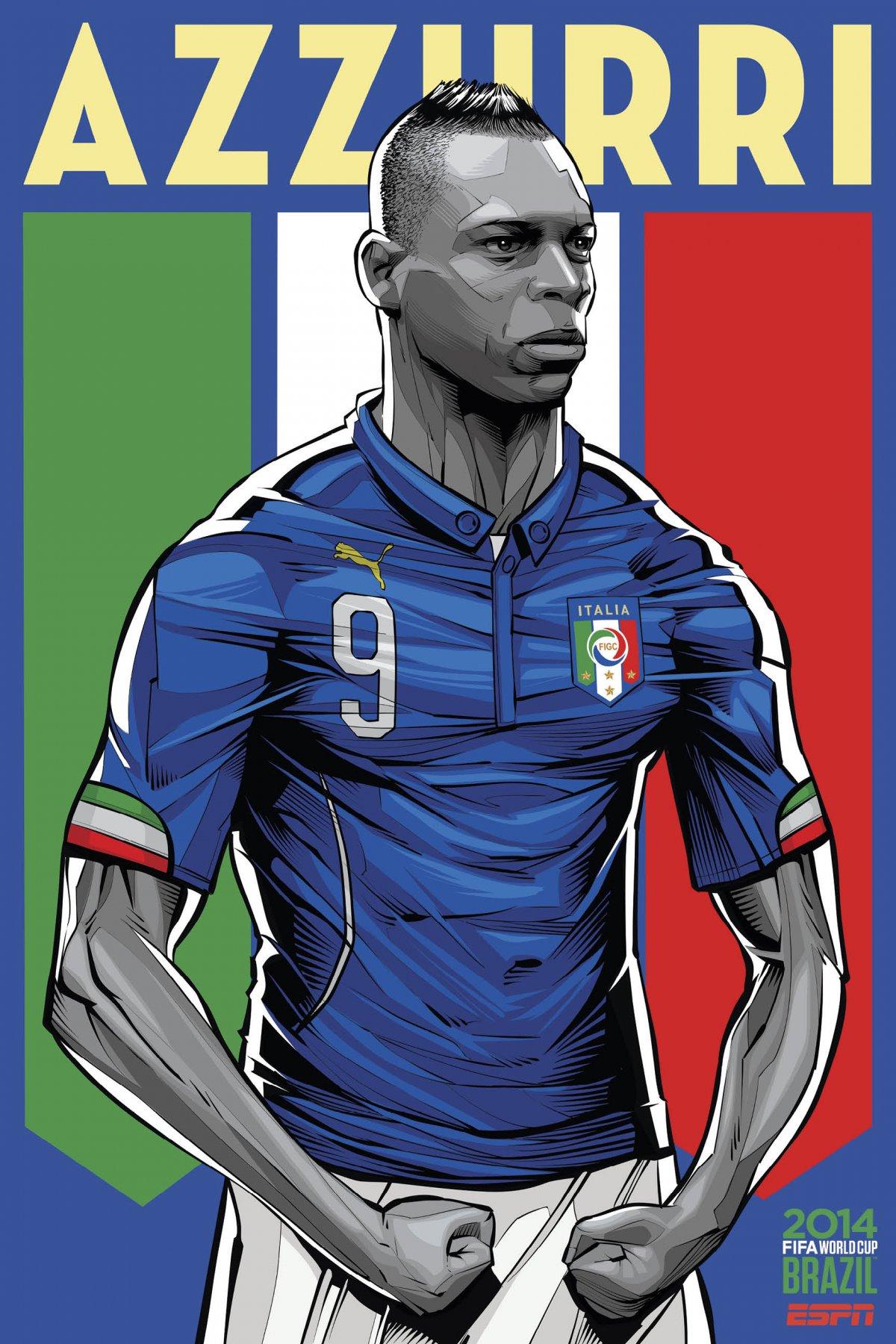 ESPN تطلق ملصقات خاصة بالمنتخبات المشاركة في كأس العالم