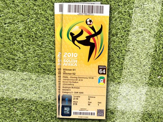 ثمانون عامًا من تصاميم تذاكر كأس العالم